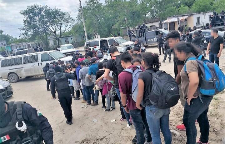 ⚠️ Alarma ola de migración a Reynosa; Por 107 detenidos…