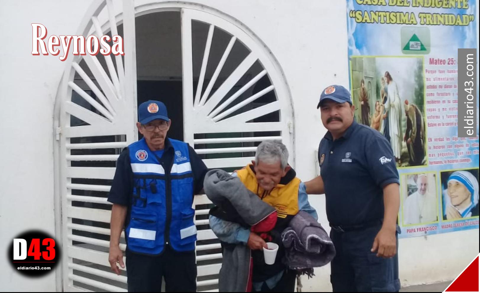 Resguarda Gobierno Municipal a personas sin hogar