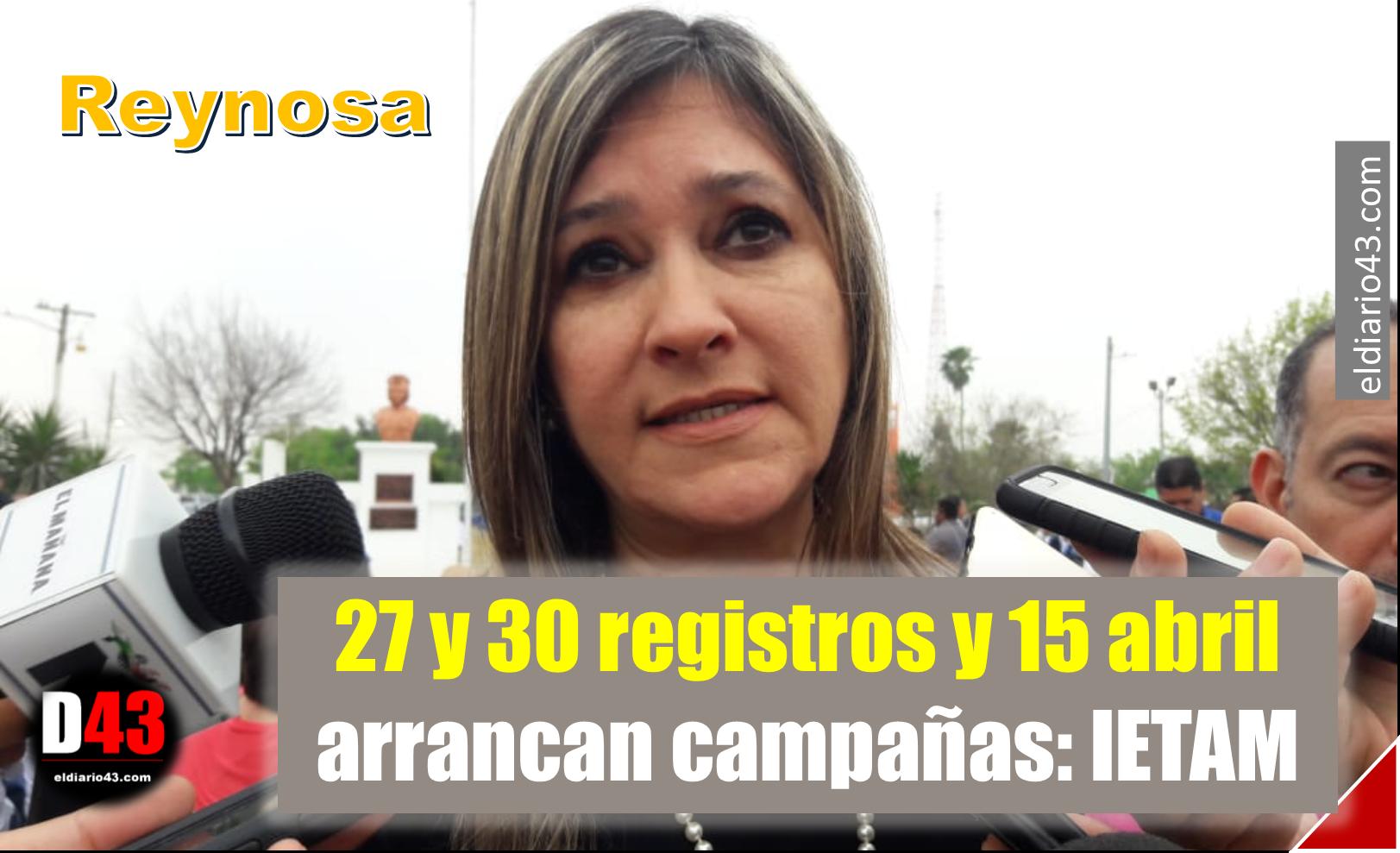 IETAM sorteará bastidores a partidos políticos en Reynosa