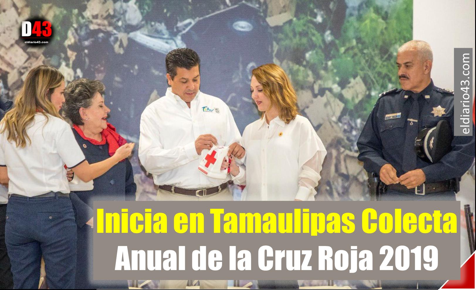 Inicia en Tamaulipas Colecta Anual de la Cruz Roja 2019