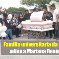Despiden a alumna UVM asesinada en Reynosa