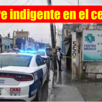 Muere indigente en viejo local comercial en Reynosa