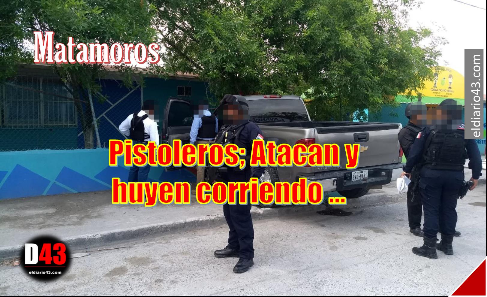 Aseguran vehículo en Matamoros..