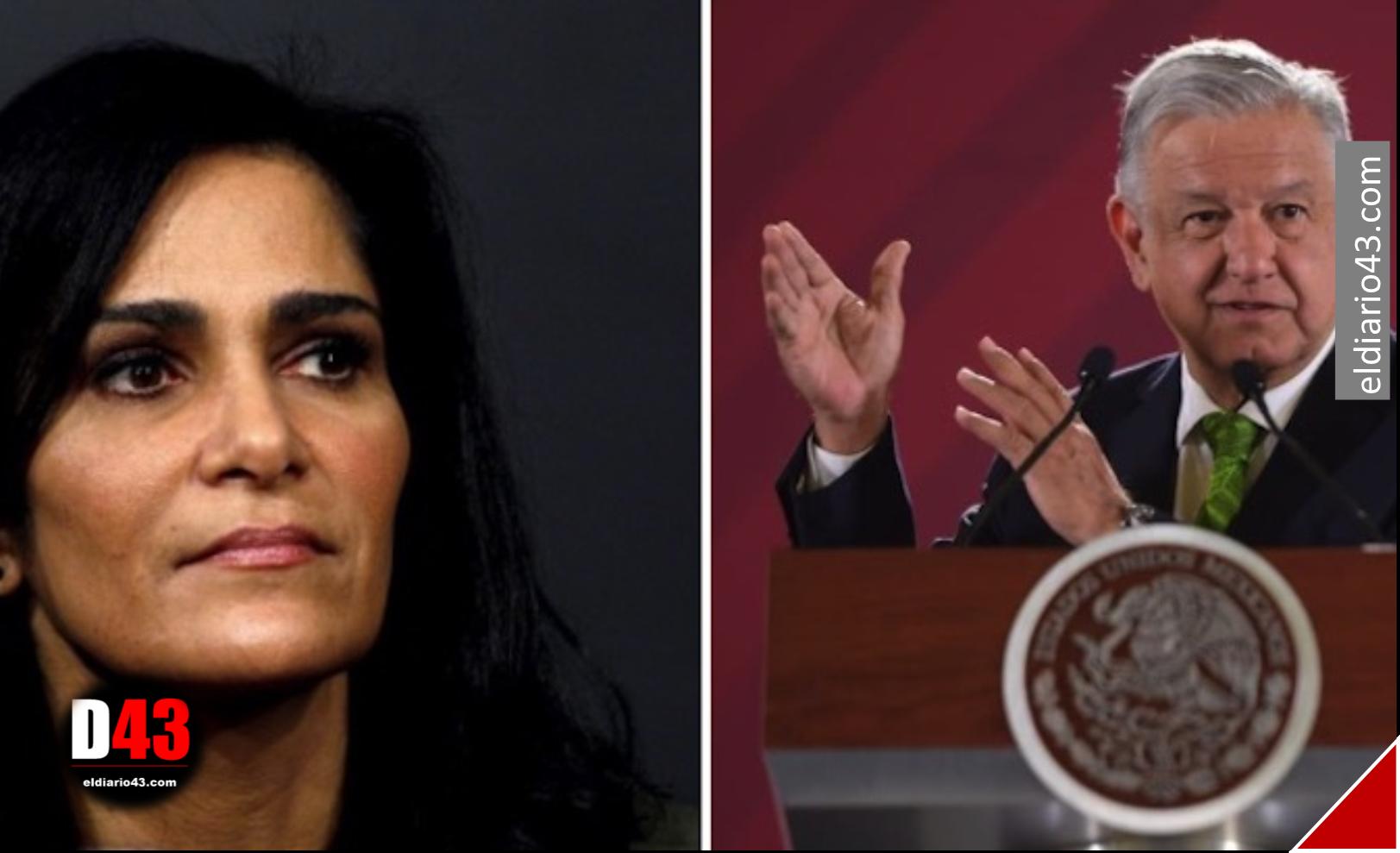 """""""Signo de los nuevos tiempos"""", AMLO sobre caso Lydia Cacho"""
