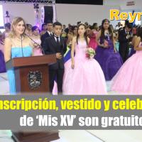 Festejará Ayuntamiento a quinceañeras en Reynosa