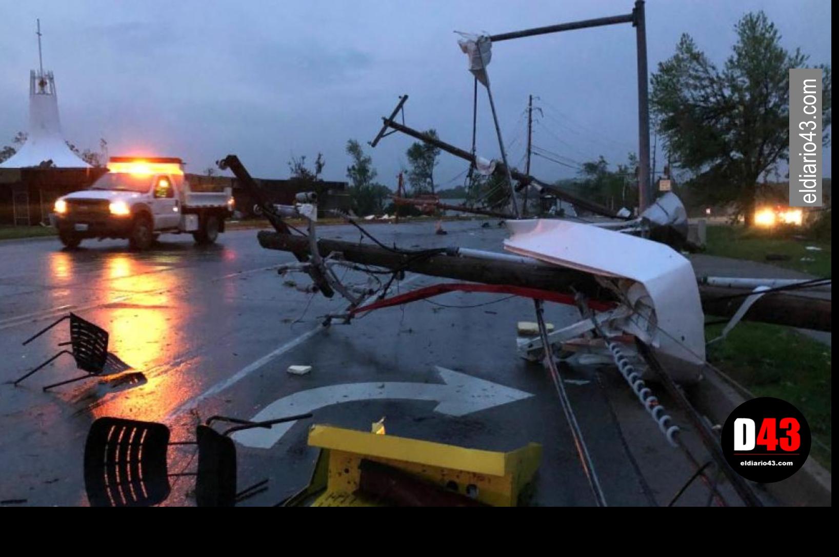 Golpea tornado a Missouri; hay 3 muertos