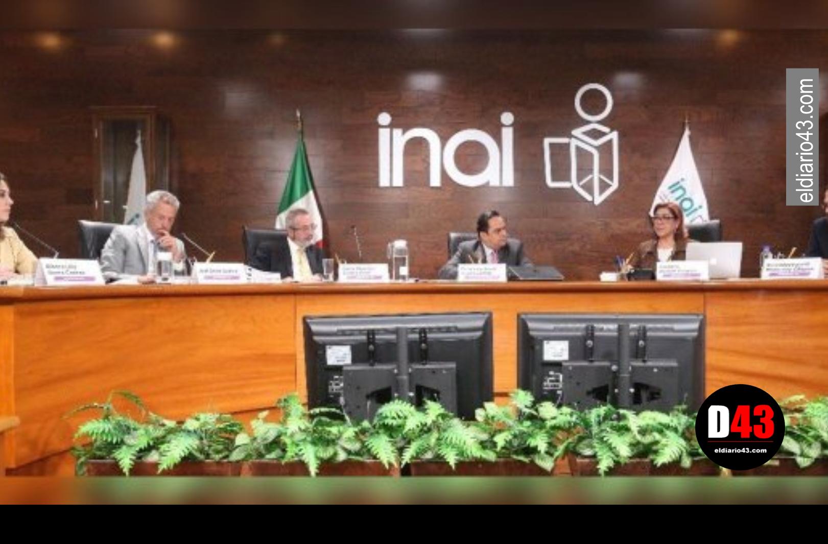 INAI no difundió información enviada por Presidencia