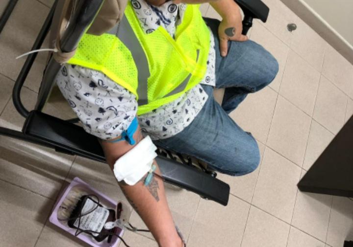 Salvando vidas; empleados en Reynosa donan sangre al prójimo