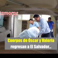 Trasladan a Monterrey, padre-hija ahogados en Río Bravo