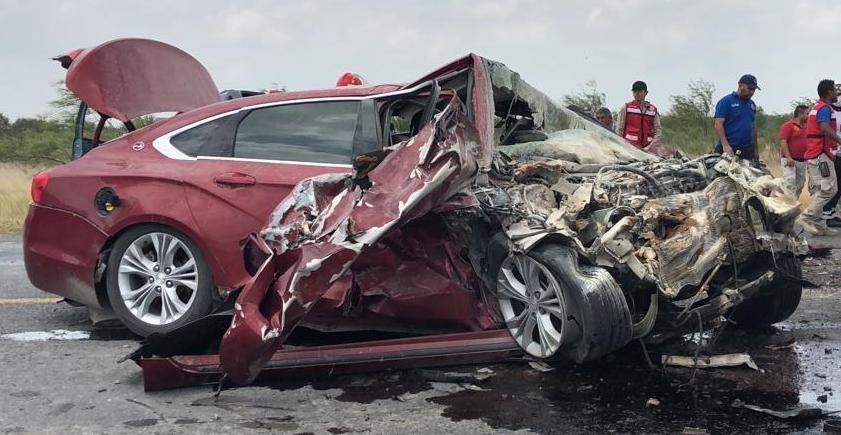 🔴Fatal accidente en carretera Ribereña; 2 muertos