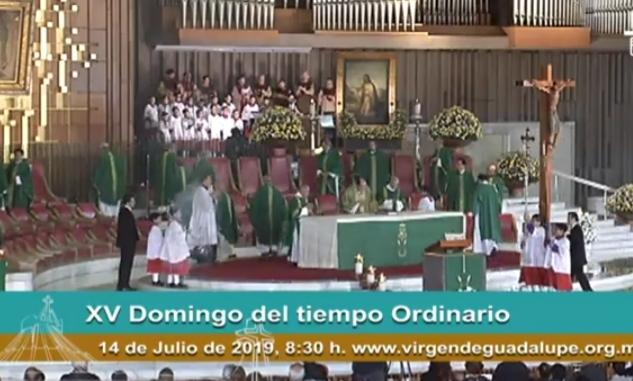 🇲🇽 Misa dominical desde la Basílica de México