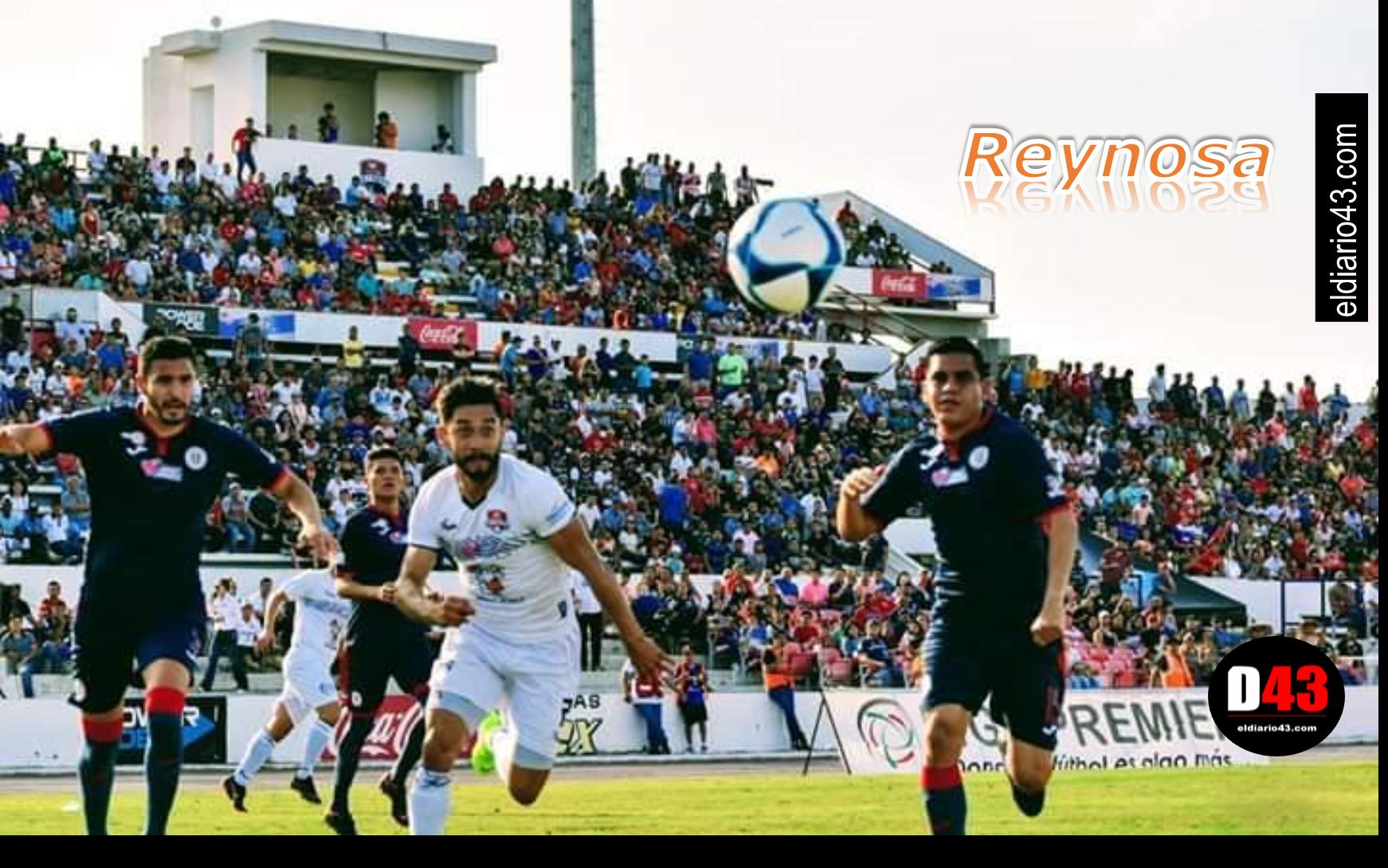 Promueven encuentros de futbol profesional en Reynosa