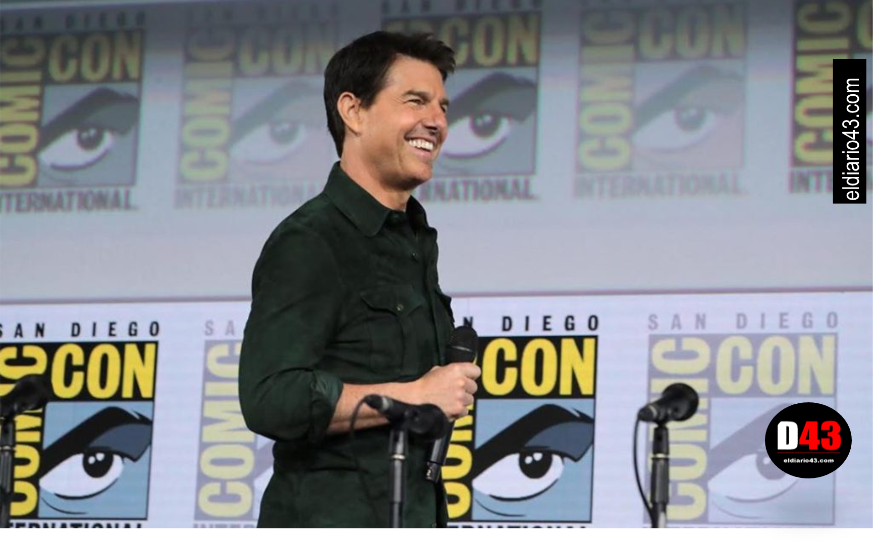 "Tom Cruise presenta avance de la película ""Top Gun: Maverick"""