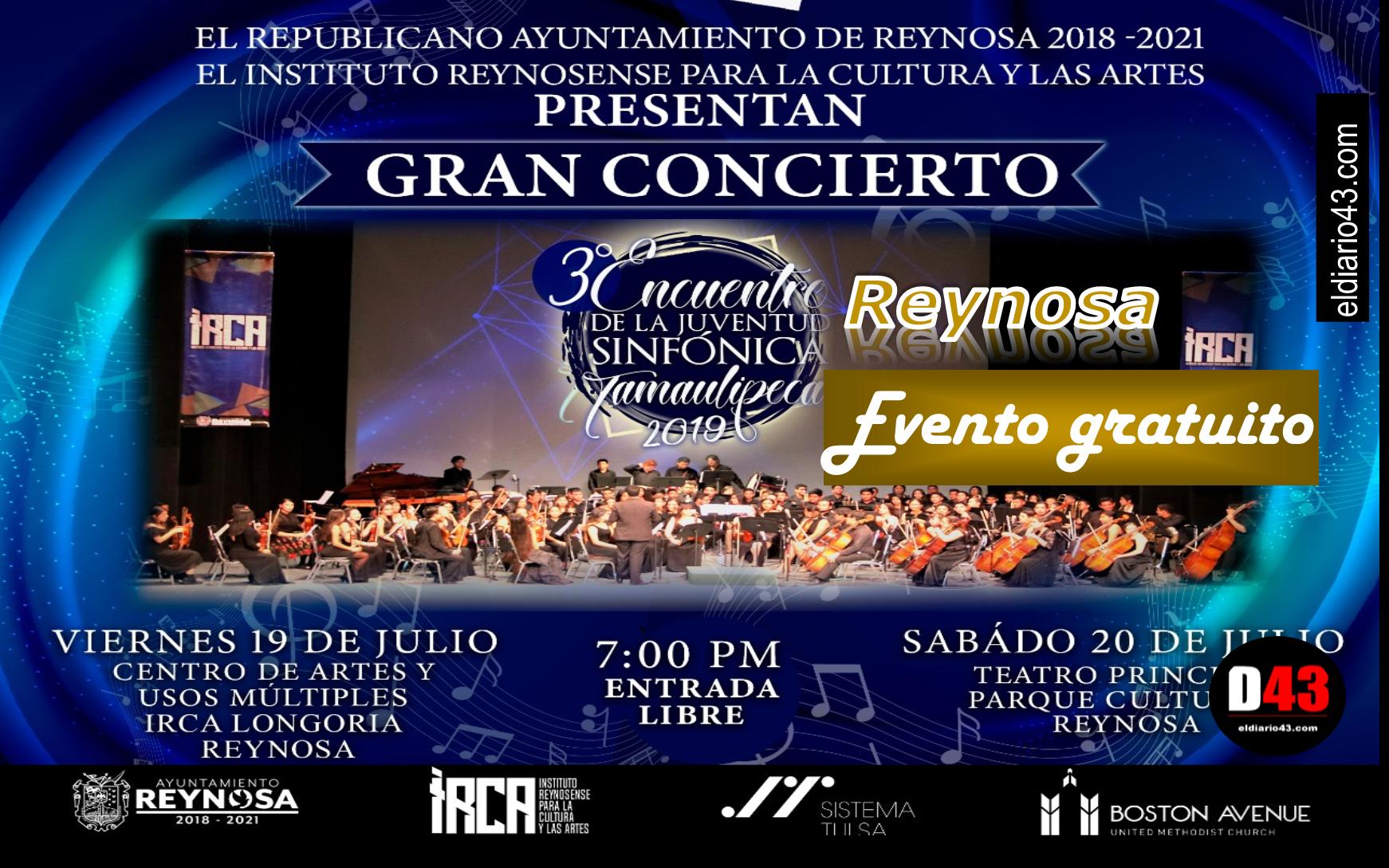 Este 19 y 20 Julio, 3er Encuentro de la Juventud Sinfónica Tamaulipeca