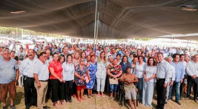 Obras por 35 MDP benefician al sector de la colonia Constitución