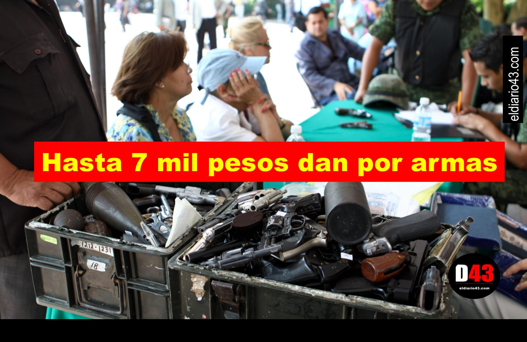 Invitan al canje de armas en Reynosa