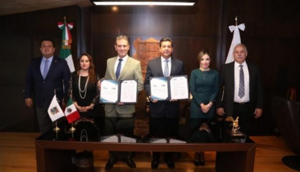 SUSCRIBE GOBIERNO DE TAMAULIPAS ACUERDOS CON EL INSTITUTO NACIONAL ELECTORAL