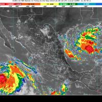 Ciclón amenaza a Tamaulipas