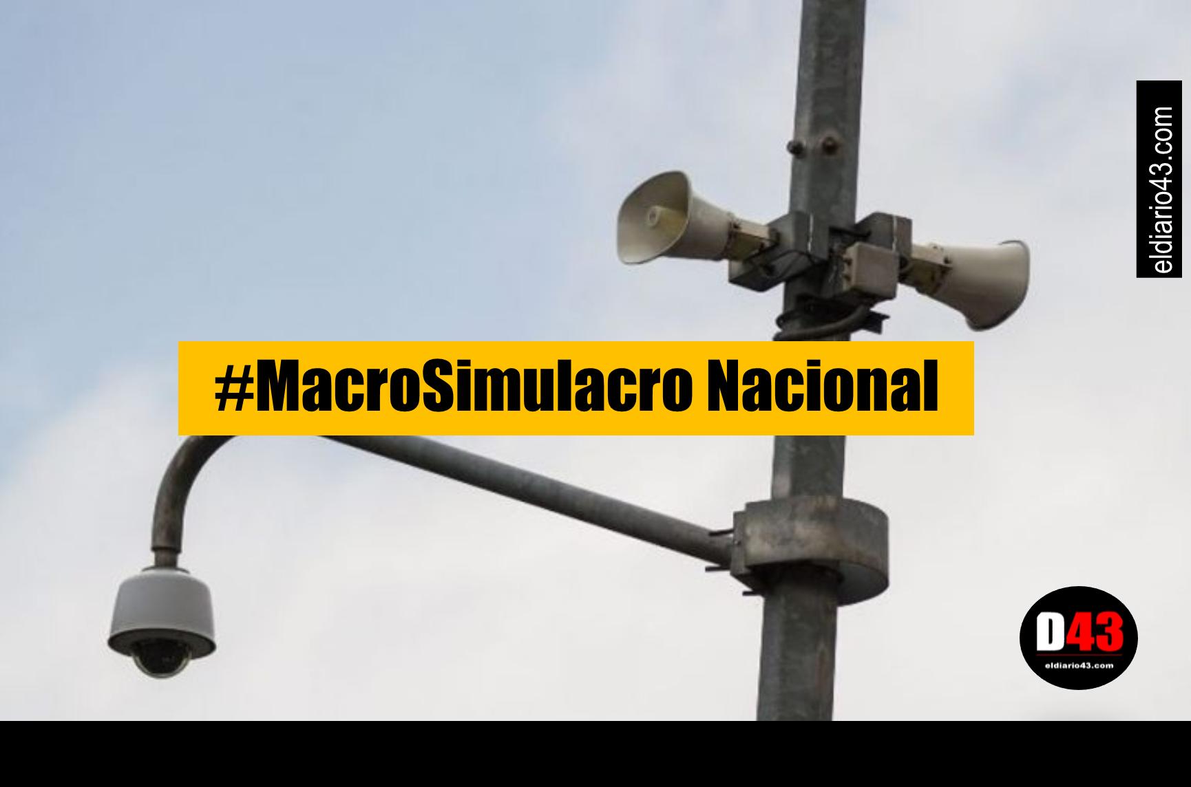 18 estados en acción con #Macrosimulacro 2019