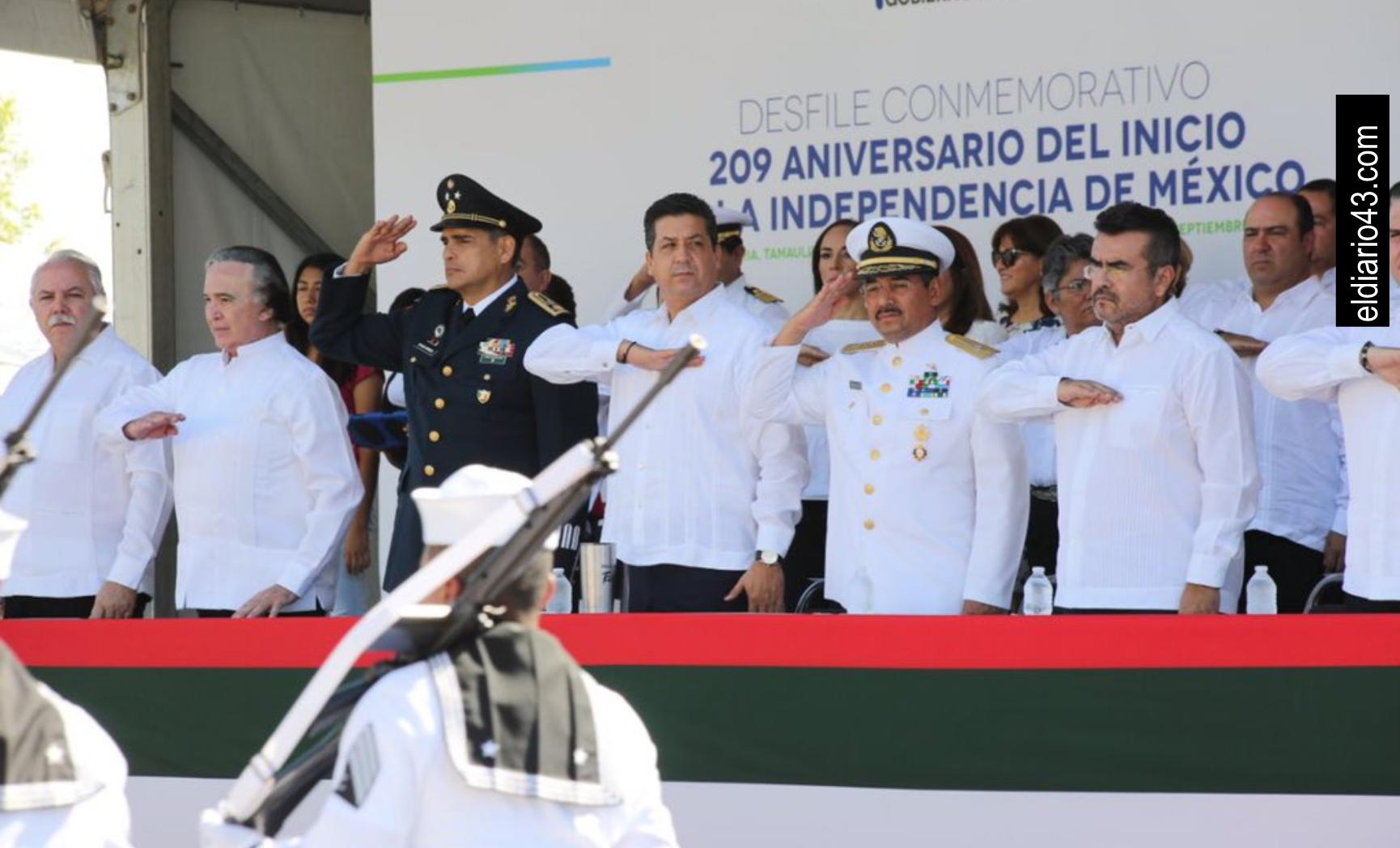 REFRENDA GOBIERNO DE TAMAULIPAS RESPETO Y SOLIDARIDAD A FUERZAS ARMADAS