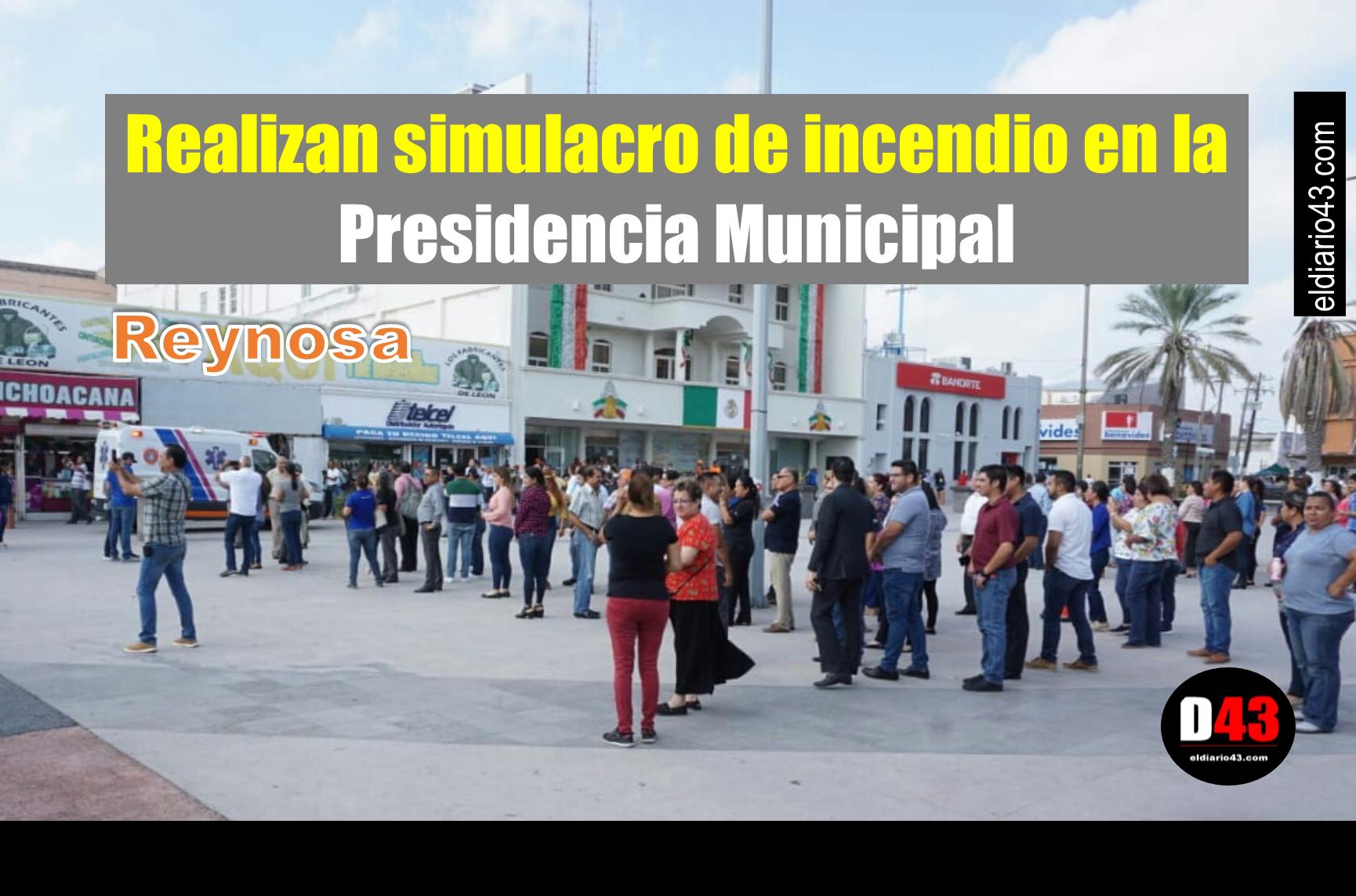 Conmemora Gobierno de Reynosa Día Nacional de la Protección Civil