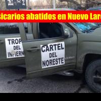 Sicarios agraden a militares y estatales en Nuevo Laredo