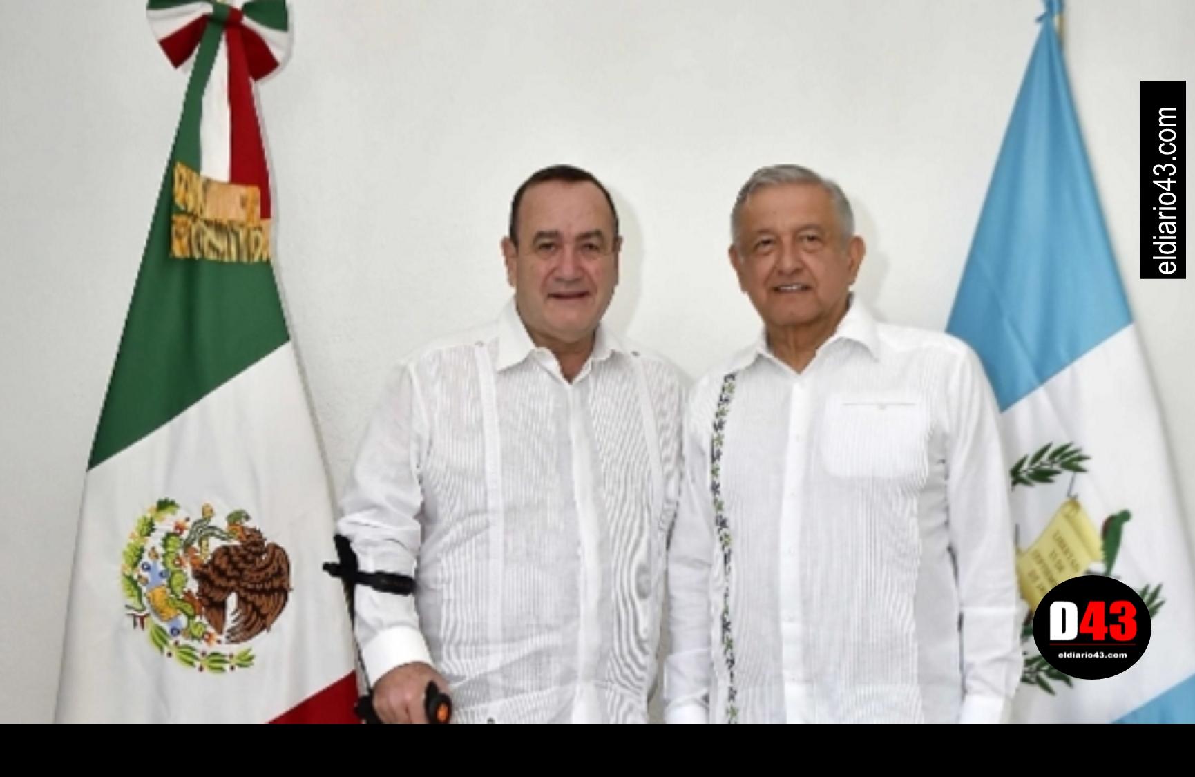 AMLO se reúne con presidente electo de Guatemala por temas de migración