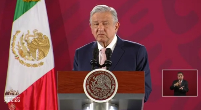 Inicia Conferencia mañanera de López  Obrador