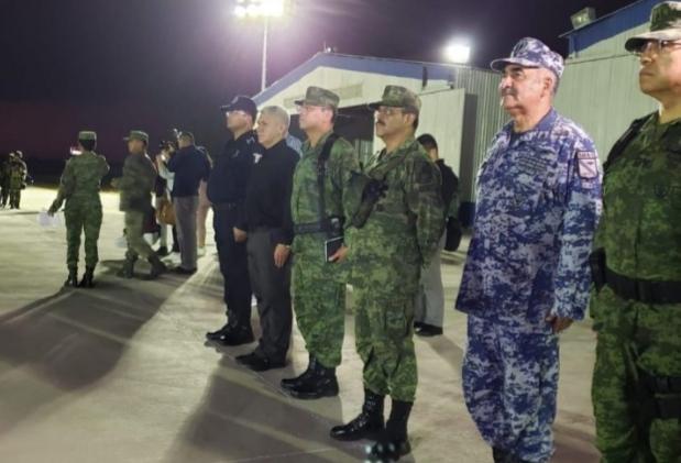 """""""No vamos en contra de nadie"""": Sedena, tras arribo de 230 militares a Culiacán"""