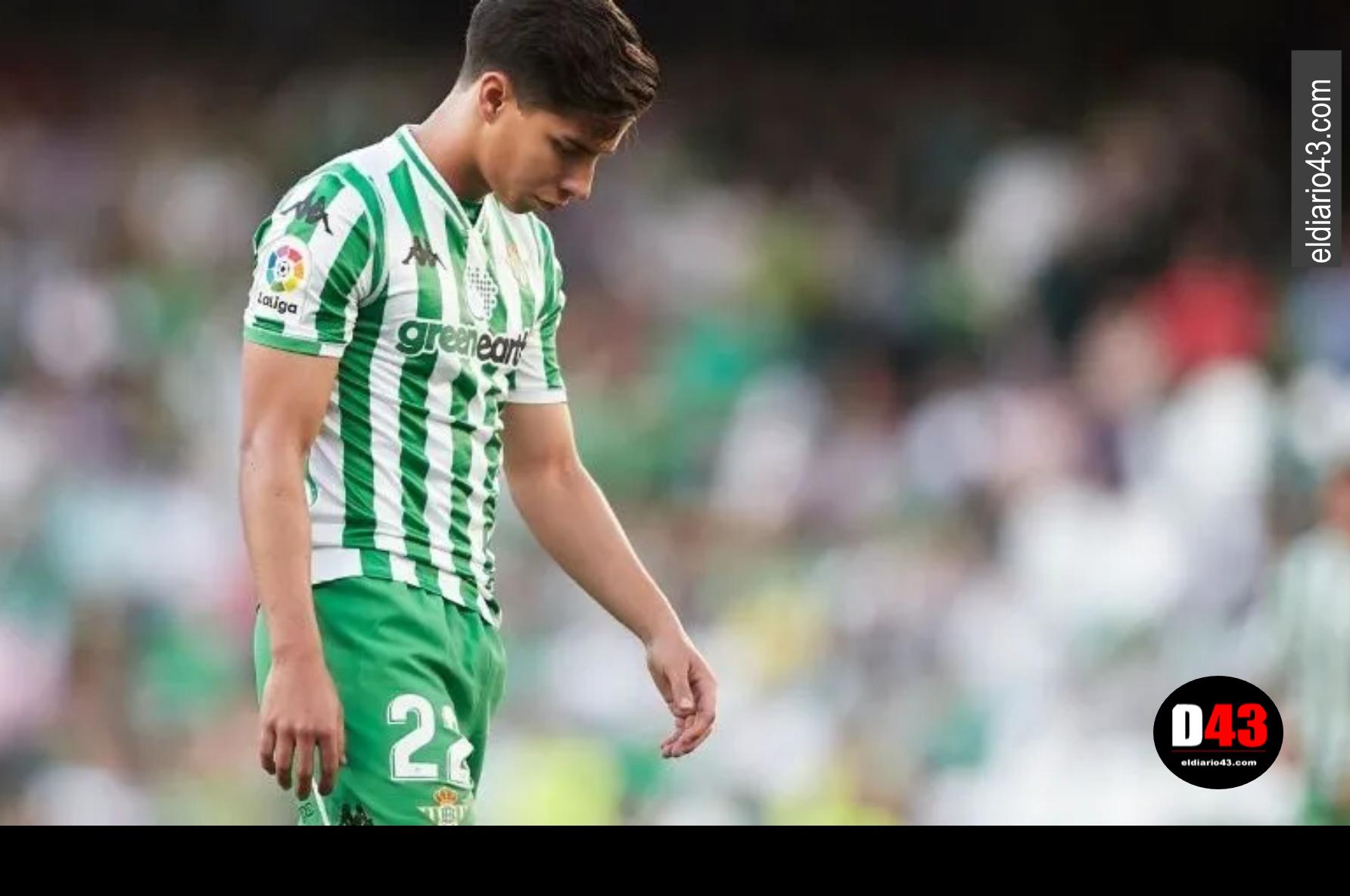 Diego Lainez fuera de los 20 finalistas para ser el 'Golden Boy'