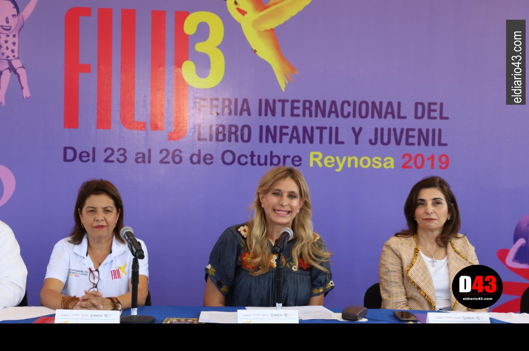 Invita Gobierno de Reynosa a la Feria Internacional del Libro Infantil y Juvenil