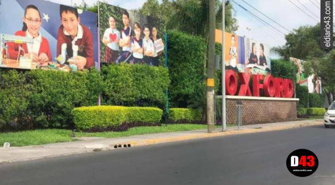 Por amenazas de tiroteo blindan colegio en San Nicolás,Nuevo León