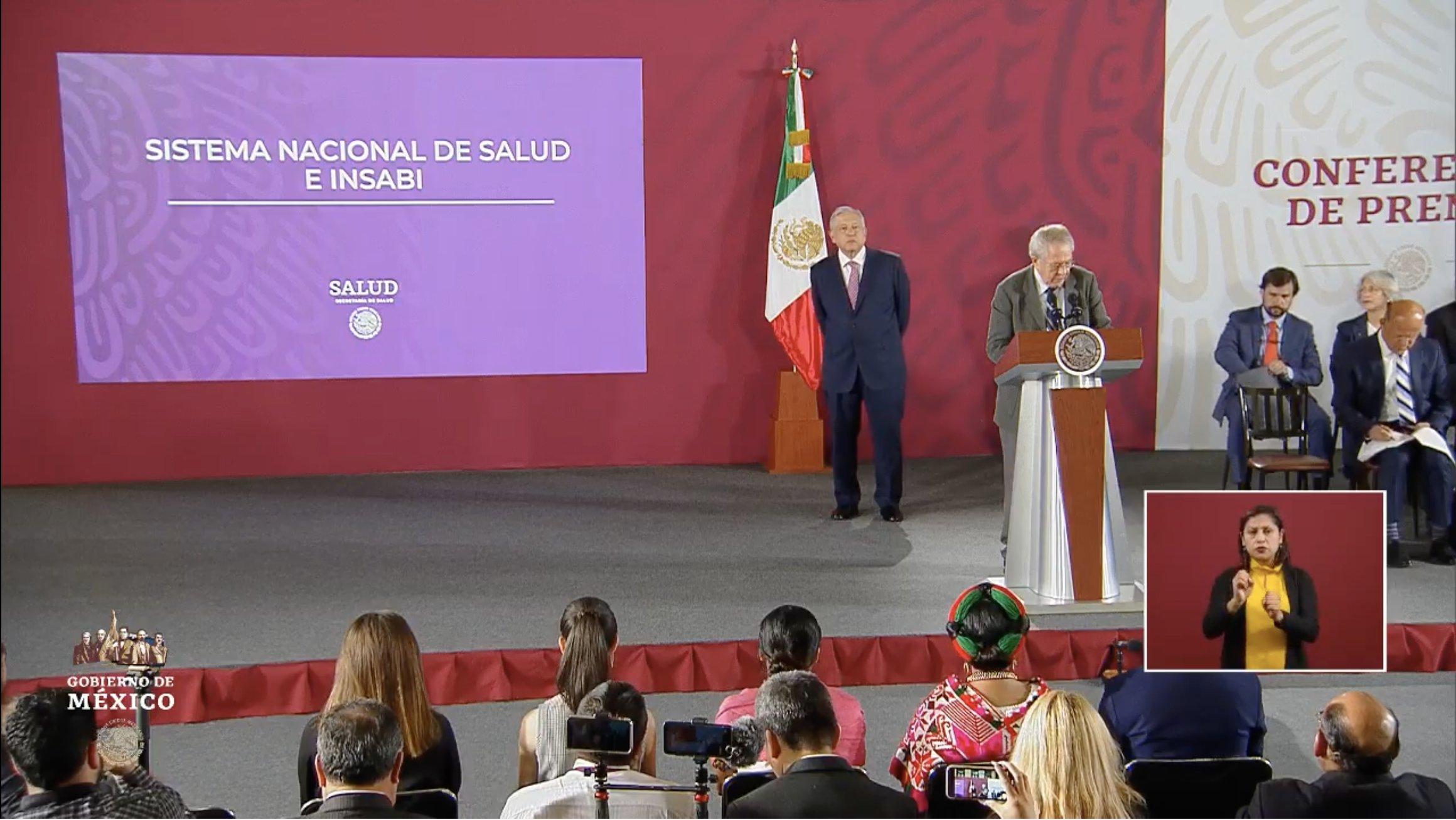 Inicia la conferencia matutina de López Obrador
