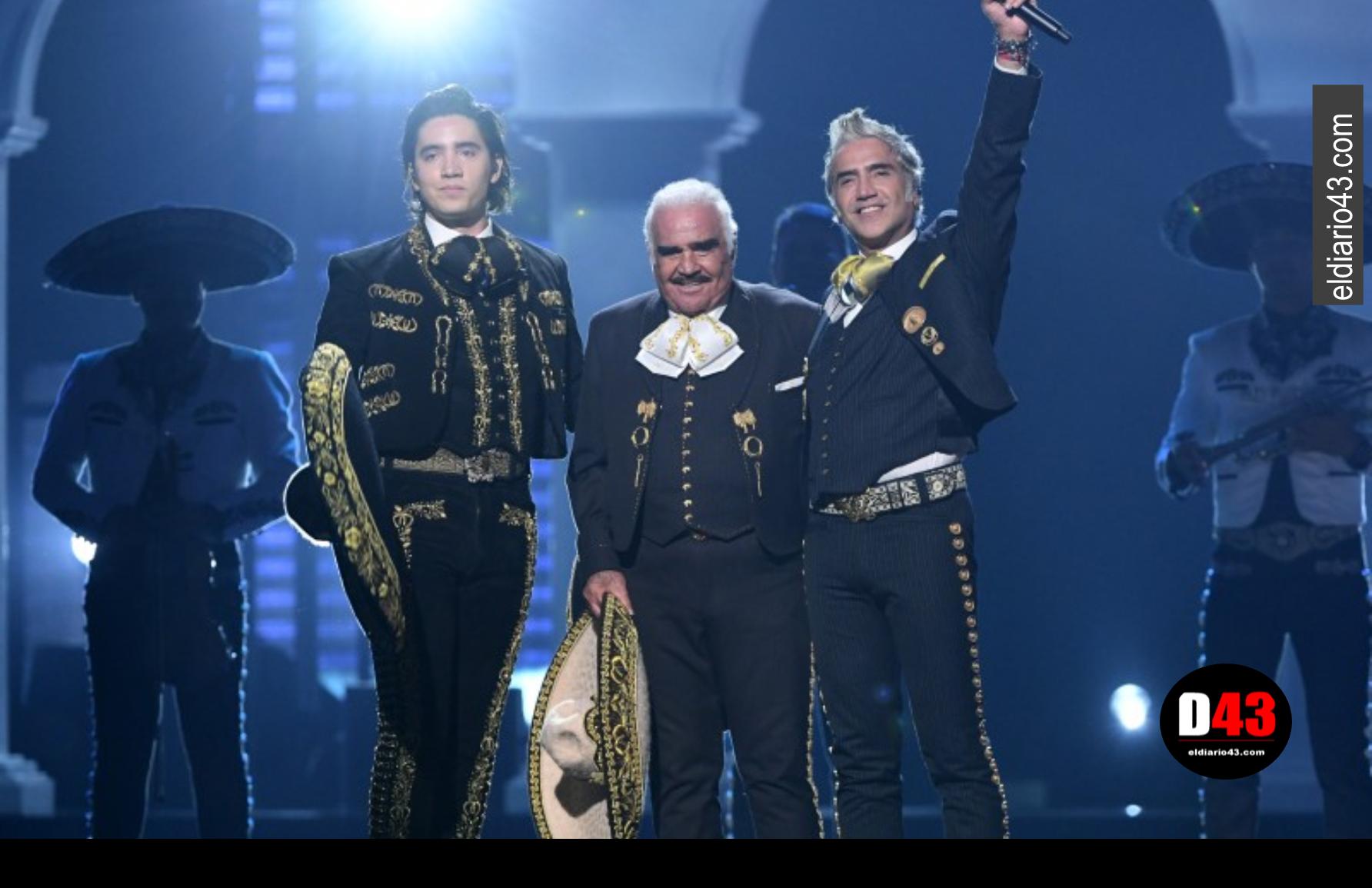 Por primera vez, los tres Fernández cantan juntos en un mismo escenario