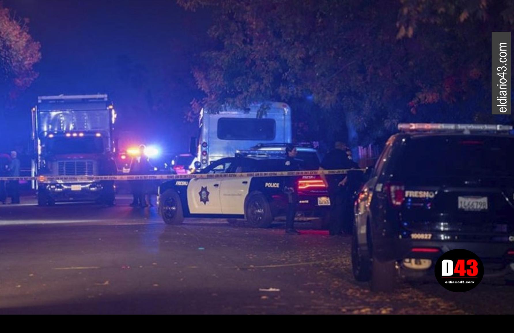 Tiroteo deja cuatro muertos y seis heridos en California