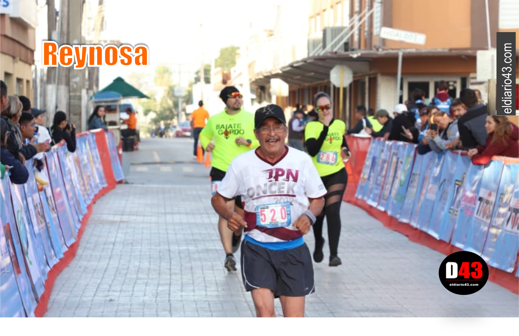 "Premian a atletas de la ""CANACO Run Fest 2019"""