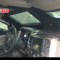Aseguran camionetas blindadas y robadas en Río Bravo