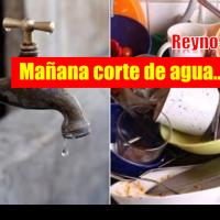 Este martes habrá corte de agua en más de 33 colonias en Reynosa