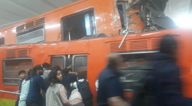 5 hospitalizados tras choque en Metro, uno grave; más de 41 heridos…