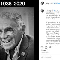 Falleció el actor Héctor Suárez a los 81 años
