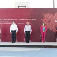 OBRAS FEDERALES FUERON SUPERVISADAS POR ALCALDESA Y TITULAR DE SEDATU
