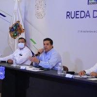 Hace Gobernador de Tamaulipas llamado a buscar solución a distribución de agua en estados del norte