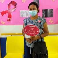 Mujeres agradecen al DIF Reynosa campaña gratuita de prevención de Cáncer de Mama