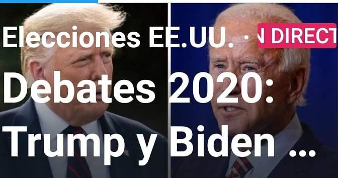 Debates 2020:Trump vs Biden
