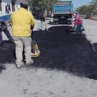 Repara Municipio pavimento en 5 colonias