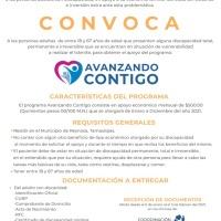 "DIF Reynosa invita a registrarse al programa ""Avanzando Contigo"""