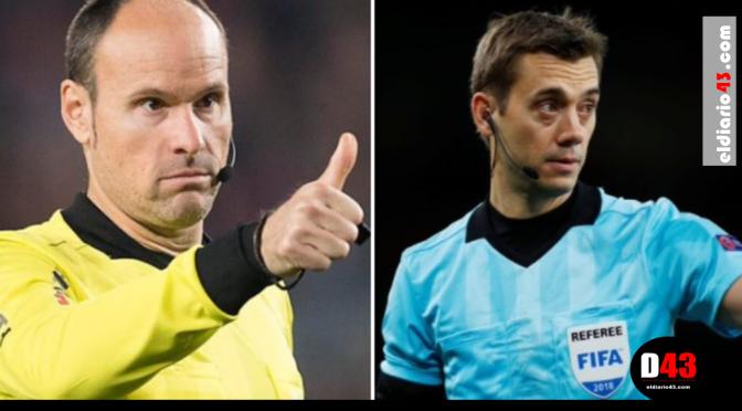 Designa UEFA árbitros para la Final de Champions y Europa League
