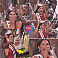 AHORA 🇲🇽🇲🇽🇲🇽👍 ¡México gana Miss Universo! 🌏Así 🥇 anunciaron el triunfo de Andrea Meza en #MissUniverso2021