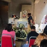 Despiden con misa a niño Brandon Giovanny, quien murió en Línea 12 del Metro
