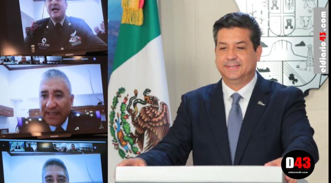 Gobernador Cabeza de Vaca participa como ponente en maestría de Seguridad Nacional a invitación del Secretario de Defensa.